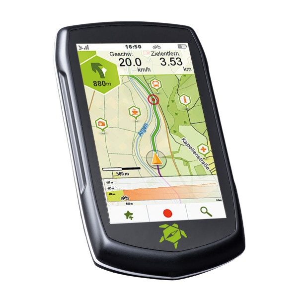 "TAHUNA Fahrrad- und Outdoor-Navigationssystem ""Teasi One4"""
